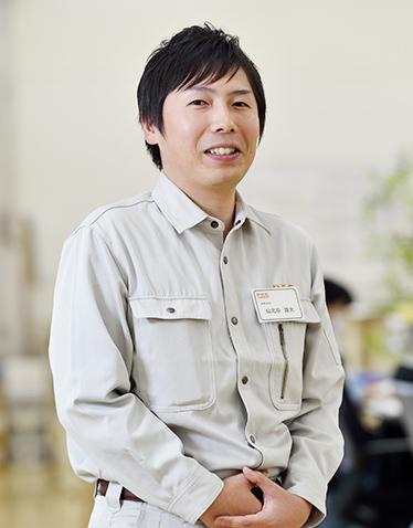営業技術部  仙北谷 雄大